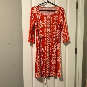Maternity Print Dress